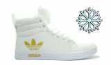 Кеды Adidas White Woman Winter