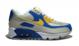 Nike Air Max 90  Fawn/Sky/Yellow Mesh Woman
