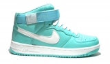Nike Air Force 1 Mid Mint/White Woman