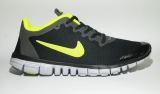 Nike Free Run 3.0 Black/Lime Men