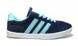 Adidas Gazelle Blue/Mint Woman