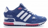 Adidas ZX 750 Blue White Red Mesh Men