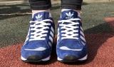 adidas zx 750 white blue mesh woman
