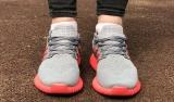 adidas ultra boost grey pink woman