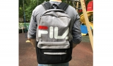 Рюкзак Fila Grey Black
