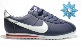 Nike Cortez Leather Blue/White/Red Men Winter