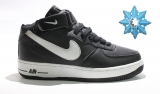 Nike Air Force 1 Mid Black/White Men Winter