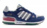 Adidas ZX 750 Blue Grey Red White Mesh Men