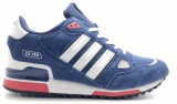 Adidas ZX 750 White Blue Mesh Woman