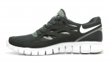 Nike Free Run 2.0 Black/White Men