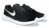 Nike Roshe Run Black/White Suede