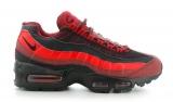nike air max 95 red/black men