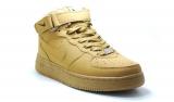 Nike Air Force 1 Mid Sandy Brown Men Winter
