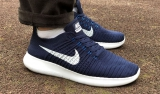 Nike Free Run Flyknit Blue White Men