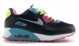Nike Air Max 90 Black Multicolored Woman