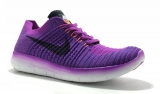 Nike Free Run Flyknit Purple Woman