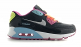Nike Air Max 90 Black/Orange/Mint/Pink Woman