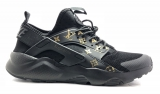 Nike Air Huarache Run Premium Black LV Men