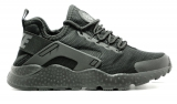 Nike Huarache Black Mesh Woman