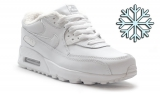 nike air max 90 white sheep woman winter